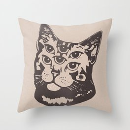 DHARMA FOR SIX Throw Pillow