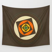minimalism Wall Tapestries featuring Minimalism / Geometric 2 by ViviGonzalezArt