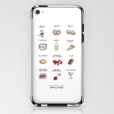Foods of The Office iPhone & iPod Skin