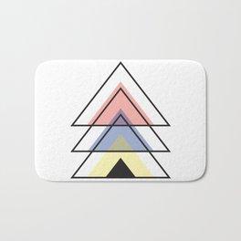 Minimalist Triangle Series 001 Bath Mat
