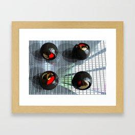 Titanium Olives Framed Art Print