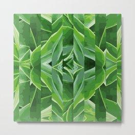 green cut Metal Print
