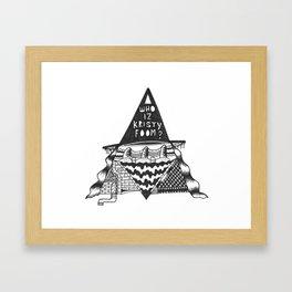 who is kristy foom? Framed Art Print