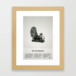 The Time Machine – Classic Beetle Ad Framed Art Print