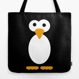 Minimal Penguin Tote Bag