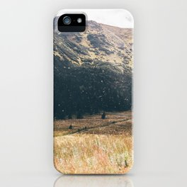 Hala Kondratowa Mountain Valley Landscape iPhone Case