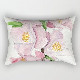 Blushing Beauties Rectangular Pillow