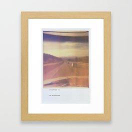 COLORADO 2012 Framed Art Print