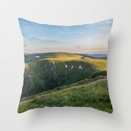 Waiting for the Stars Throw Pillow