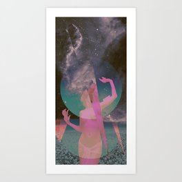 STELLAR WOMAN 001 Art Print