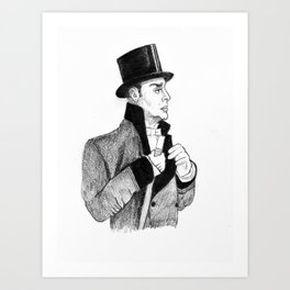 Boyer by Gaslight Art Print