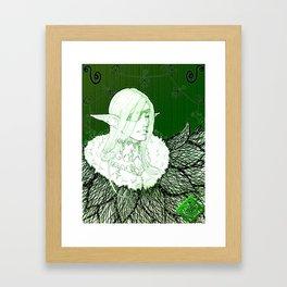 Aelna The High Elf Framed Art Print