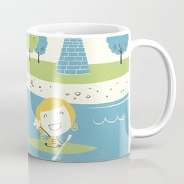 Row Row Row Coffee Mug