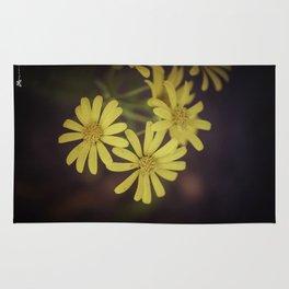 Yellow Wild Daisy  Rug