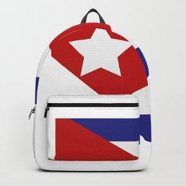 Cuba flag Backpack
