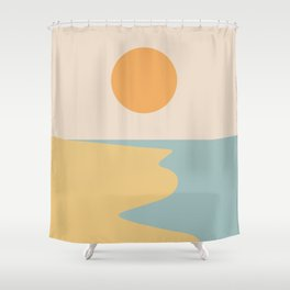 Ocean Sunset / Sunrise II Shower Curtain