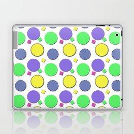 PASTEL CIRCUS CIRCLES  Laptop & iPad Skin