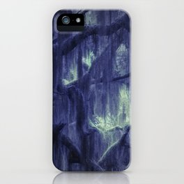 Moody woods iPhone Case