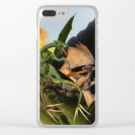 Battle for Dragon Mountain Clear iPhone Case