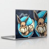 eevee Laptop & iPad Skins featuring 133- Eevee by Lyxy