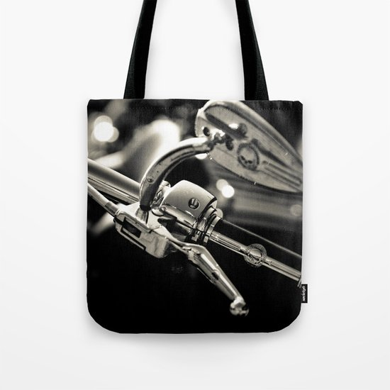 Let's just go walking in the rain Tote Bag