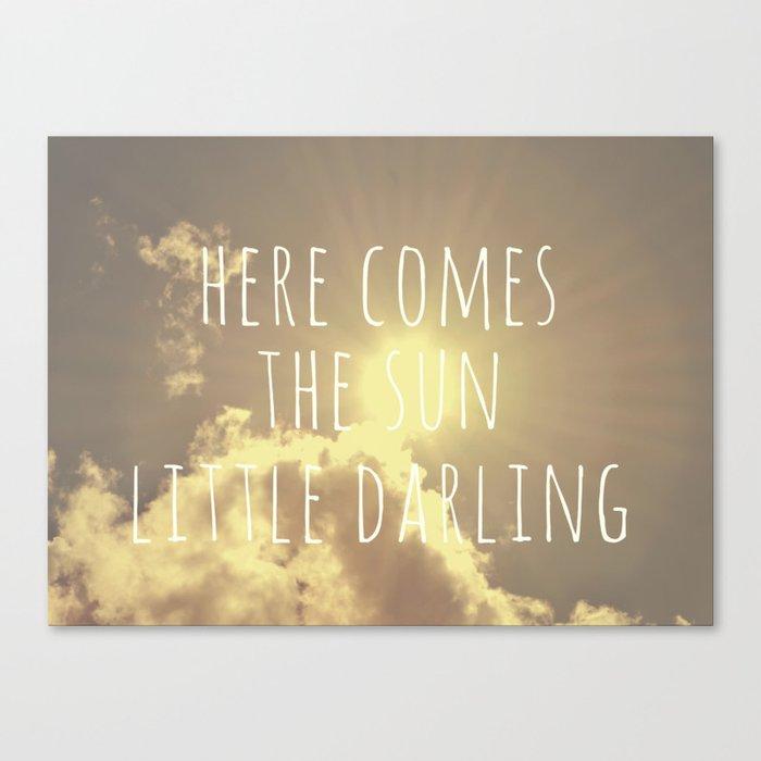 Little Darling  Canvas Print