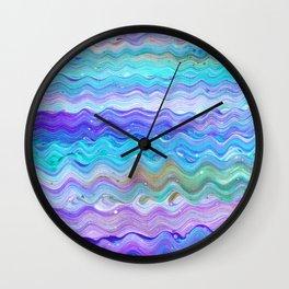 Unicorn Brainwaves Wall Clock