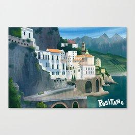 Positano Day Canvas Print