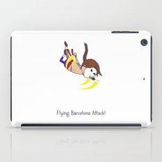 Flying Barcelona Attack iPad Case