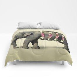 Inner Rose Elephant Comforters