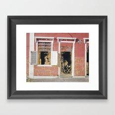 Rua 139 Framed Art Print