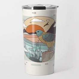 Buzzard Travel Mug