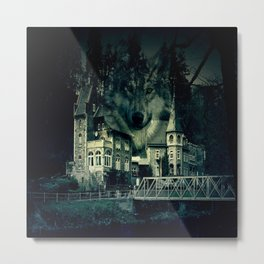 Castle of Wolves Metal Print