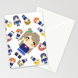 Pixel Kotori Stationery Cards