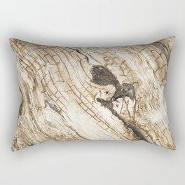 Aged wood Rectangular Pillow