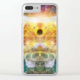 Infinite Void Clear iPhone Case