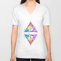 harry potter V-neck T-shirts featuring harry potter by Simona Borstnar