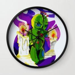 Voodoo Doll Wall Clock