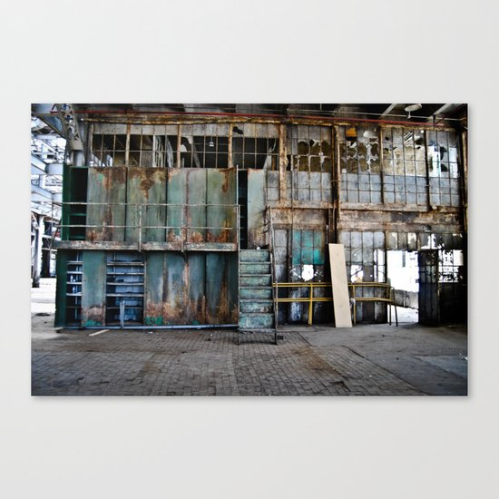 Left to Rot  Canvas Print