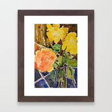 last rose of summer Framed Art Print