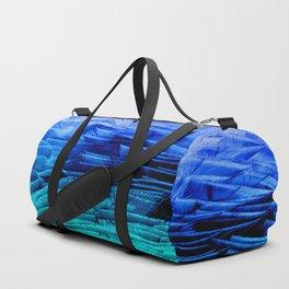 RUFFLED BLUE Duffle Bag