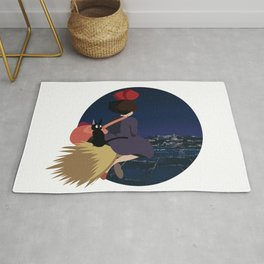 Witch at Night Rug