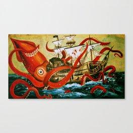 The Attack Canvas Print
