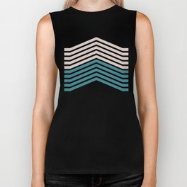 FLYING (abstract geometric pattern) Biker Tank