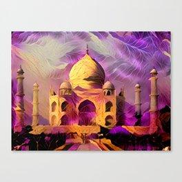 Violet Temple Canvas Print