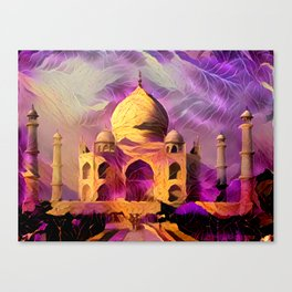 Violet Temple Canvas Print
