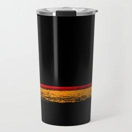 minimal sunset Travel Mug