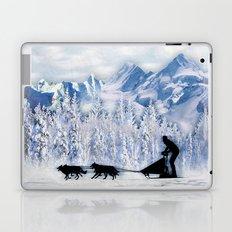 Dogsledding Laptop & iPad Skin