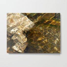 waffle wave Metal Print