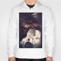 cheetah Hoodies featuring Cheetah by Nicholas Redfunkovich